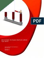 Manual de montaje de seccionador de puesta a tierra