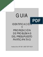 GUIA DE PRIORIZACION