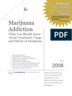 Marijuana Addiction 2008