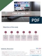 2 CRM AT TATA SKY_Group 2