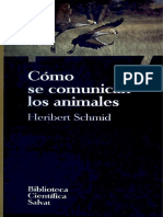 071. Cómo se comunican los animales - Heribert Schmid
