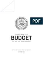 Obama's 2012 Fiscal Year Federal Budget Proposal