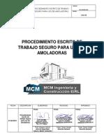 SIG-SSOMA-003-PROCEDIMIENTO DE TRABAJO SEGURO PARA EL USO DE AMOLADORAS