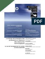 These 2016 SHS Sciences de l Education BESNIER Sylvaine