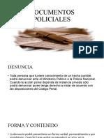 Documentos Policiales