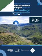 Índice de Calidad del Agua para la cuenca del río Santiago-Guadalajara