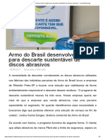 Armo do Brasil desenvolve solução para descarte sustentável de discos abrasivos - Canal Bioenergia.pdf