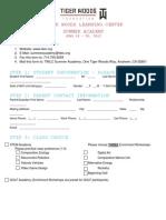 SummerAcademy_Application