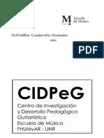 Cuadernillo Ciclo de Nivelación 2020 del CIDPeG