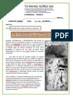 guia de aprendizaje  ESPAÑOL    6º  07 -11  DIC