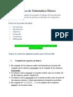 Practica de Matemática Básica. CMB-106