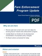 Sound Transit - Fare Enforcement Update - November 2020