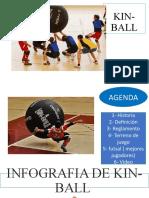 Kinball y futsal