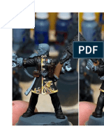 NMM Gold on Fabric