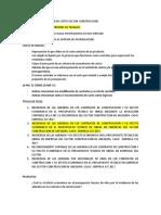 SISTEMA DE COSTO CONSTRUCCION