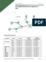 9.2.1.5 Packet Tracer - Designing and Implementing a VLSM Addressing Scheme Instruct IG