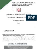 CLASE 10 Administración de Recursos Logistica