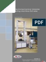 Electromechanical testing machines EM2 MICROTEST ENGLISH b