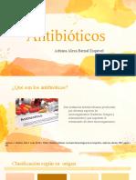 Generalidades antibióticos