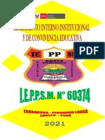 REGLAMENTO INTERNO INSTITUCIONAL Y DE CONVIVENCIA 2021 IEPPSM 60374