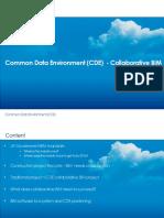 CDE – Collaborative BIM