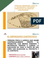 OBLIGACIONES DEL EMPRESARIO, JEFES DE OBRA , ENCARGADOS Y RECURSOS PREVENTIVOS EN LAS OBRAS DE CONSTRUCCION