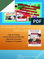 PRODUCTOS RESUELTOS SESION 2 CONSEJO TECNICO ESCOLAR DICIEMBRE 11 2020