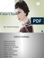 Coco Chanel Powerpoint