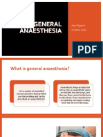 General anesthesia in Pediatric Dentistry