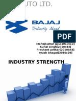 Space Chart, Bajaj Auto Ltd