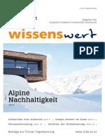 Wissenswert Dezember 2020 – das Magazin der Universität Innsbruck