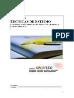 DOSSIER TECNICAS DE ESTUDIO