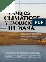 Demenocal, P.-Cambios climaticos y evolucion humana