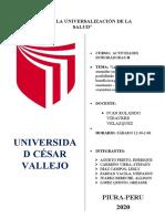 LAS POLÍTICAS EDUCATIVAS - PROYECTO