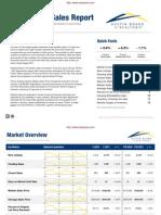 Residential Sales Report Jan 2011
