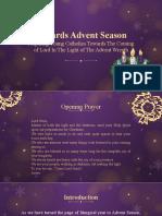 Towards Advent Season