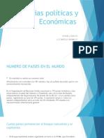 Ciencias políticas y Económicas
