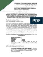 Modelo Demanda de Indemnización a Favor de Servidor Público 276 Municipal - Autor José María Pacori Cari