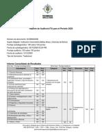 Auditoria Unibac-procuraduria General