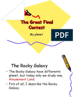 The Great Final Contest