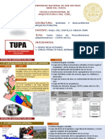 TUPA MUNI.CUSCO-RIVAS Y CONZA
