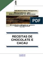 Receitas de Chocolate e Cacau