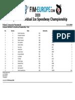 2020 European Individual Ice Speedway Championship - Europea (1)