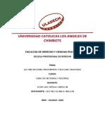 las anotaciones preventivas y bloqueo registral - II UNIDAD