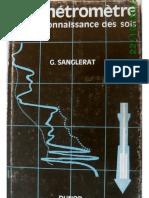 1965 - Le pénétromètre et la reconnaissance des sols - Sanglerat