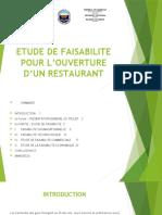 ETUDE DE FAISABILITE POUR L'OUVERTURE D'UN RESTAURANT.pptx