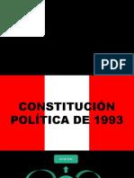 CONSNSTITUCIÓN POLÍTICA DE 1993