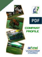 deFutsal CompanyProfile