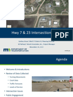Hwy 7 & 23 Intersection Study Presentation[1][1]