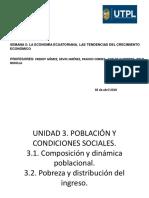 Población y Condiciones Social
